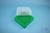 EPPi® Box 75 / 7x7 Fächer, grün, Höhe 75 mm fix, ohne Codierung, PP. EPPi®...