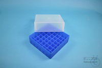 EPPi® Box 75 / 7x7 divider, neon-blue, height 75 mm fix, without ID code, PP....