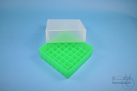 EPPi® Box 75 / 7x7 divider, neon-green, height 75 mm fix, without ID code,...
