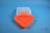 EPPi® Box 75 / 7x7 Fächer, neon-orange, Höhe 75 mm fix, ohne Codierung, PP....