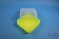 EPPi® Box 75 / 7x7 divider, neon-yellow, height 75 mm fix, without ID code,...