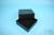 EPPi® Box 75 / 9x9 Fächer, black/black, Höhe 75 mm fix, ohne Codierung, PP....