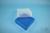 EPPi® Box 75 / 9x9 Fächer, blau, Höhe 75 mm fix, ohne Codierung, PP. EPPi®...