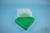 EPPi® Box 75 / 9x9 Fächer, grün, Höhe 75 mm fix, ohne Codierung, PP. EPPi®...
