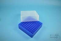 EPPi® Box 75 / 9x9 divider, neon-blue, height 75 mm fix, without ID code, PP....