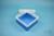 EPPi® Box 80 / 1x1 ohne Facheinteilung, blau, Höhe 80 mm fix, ohne Codierung,...
