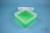 EPPi® Box 80 / 1x1 ohne Facheinteilung, neon-grün, Höhe 80 mm fix, ohne...