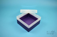 EPPi® Box 80 / 1x1 without divider, violet, height 80 mm fix, without ID...
