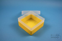 EPPi® Box 80 / 1x1 without divider, yellow, height 80 mm fix, without ID...