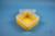 EPPi® Box 80 / 1x1 ohne Facheinteilung, gelb, Höhe 80 mm fix, ohne Codierung,...