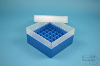 EPPi® Box 80 / 7x7 divider, blue, height 80 mm fix, without ID code, PP....