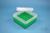 EPPi® Box 80 / 7x7 Fächer, grün, Höhe 80 mm fix, ohne Codierung, PP. EPPi®...