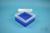 EPPi® Box 80 / 7x7 Fächer, neon-blau, Höhe 80 mm fix, ohne Codierung, PP....