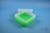 EPPi® Box 80 / 7x7 Fächer, neon-grün, Höhe 80 mm fix, ohne Codierung, PP....