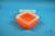 EPPi® Box 80 / 7x7 Fächer, neon-orange, Höhe 80 mm fix, ohne Codierung, PP....