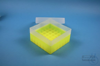 EPPi® Box 80 / 7x7 divider, neon-yellow, height 80 mm fix, without ID code,...