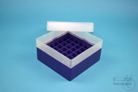 EPPi® Box 80 / 7x7 divider, violet, height 80 mm fix, without ID code, PP....