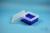 EPPi® Box 80 / 9x9 Fächer, neon-blau, Höhe 80 mm fix, ohne Codierung, PP....