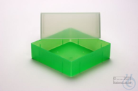 EPPi® Box 95 / 1x1 without divider, neon-green, height 95 mm fix, without ID...