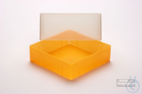 EPPi® Box 95 / 1x1 without divider, neon-orange, height 95 mm fix, without ID...