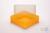 EPPi® Box 95 / 1x1 ohne Facheinteilung, neon-orange, Höhe 95 mm fix, ohne...