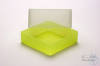 EPPi® Box 95 / 1x1 without divider, neon-yellow, height 95 mm fix, without ID...