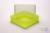 EPPi® Box 95 / 1x1 ohne Facheinteilung, neon-gelb, Höhe 95 mm fix, ohne...