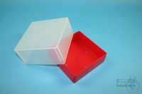 EPPi® Box 95 / 1x1 without divider, red, height 95 mm fix, without ID code,...