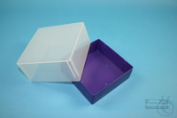 EPPi® Box 95 / 1x1 without divider, violet, height 95 mm fix, without ID...