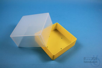EPPi® Box 95 / 1x1 without divider, yellow, height 95 mm fix, without ID...