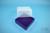 EPPi® Box 95 / 9x9 Fächer, violett, Höhe 95 mm fix, ohne Codierung, PP. EPPi®...