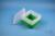 EPPi® Box 96 / 1x1 ohne Facheinteilung, grün, Höhe 96-106 mm variabel, ohne...