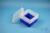 EPPi® Box 96 / 1x1 ohne Facheinteilung, neon-blau, Höhe 96-106 mm variabel,...