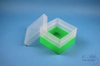 EPPi® Box 96 / 1x1 without divider, neon-green, height 96-106 mm variable,...
