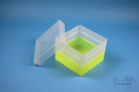 EPPi® Box 96 / 1x1 without divider, neon-yellow, height 96-106 mm variable,...