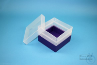 EPPi® Box 96 / 1x1 without divider, violet, height 96-106 mm variable,...