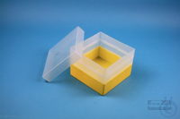 EPPi® Box 96 / 1x1 without divider, yellow, height 96-106 mm variable,...
