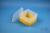 EPPi® Box 96 / 1x1 ohne Facheinteilung, gelb, Höhe 96-106 mm variabel, ohne...