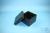 EPPi® Box 96 / 7x7 Fächer, black/black, Höhe 96-106 mm variabel, ohne...