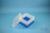 EPPi® Box 96 / 7x7 Fächer, blau, Höhe 96-106 mm variabel, ohne Codierung, PP....