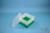 EPPi® Box 96 / 7x7 Fächer, grün, Höhe 96-106 mm variabel, ohne Codierung, PP....