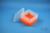 EPPi® Box 96 / 7x7 Fächer, neon-orange, Höhe 96-106 mm variabel, ohne...