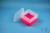 EPPi® Box 96 / 7x7 Fächer, neon-rot/pink, Höhe 96-106 mm variabel, ohne...