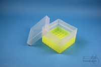 EPPi® Box 96 / 7x7 divider, neon-yellow, height 96-106 mm variable, without...