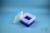EPPi® Box 96 / 9x9 Fächer, neon-blau, Höhe 96-106 mm variabel, ohne...