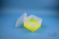 EPPi® Box 96 / 9x9 divider, neon-yellow, height 96-106 mm variable, without...