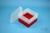 EPPi® Box 96 / 9x9 Fächer, rot, Höhe 96-106 mm variabel, ohne Codierung, PP....