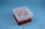 EPPi® Box 96 / 10 Löcher, rot, Höhe 96-106 mm variabel, ohne Codierung, PP....