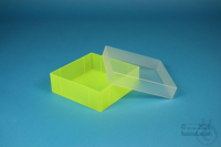 EPPi® MAX 50 / 1x1 without divider, neon-yellow, height 52 mm fix, without ID...
