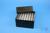 EPPi® Box 102 / 7x7 Löcher, black/black, Höhe 102 mm fix, alpha-num....